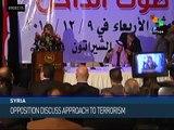 Syrian Opposition Denounces Terrorism