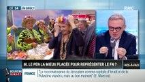 Brunet & Neumann: Marine Le Pen, la mieux placée pour représenter le FN ? - 08/03