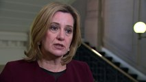 """Amber Rudd confirms police officer is """"engaging and awake"""""""
