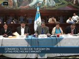 Guatemalan President Invokes Legal Protection