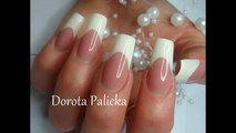 French by Dorota Palicka with Nail Perfect Brush on french gel
