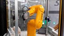 Des robots collaboratifs en démonstration au Salon international du décolletage à la Roche-sur-Foron