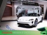 Porsche Mission E Cross Turismo en direct du salon de Genève 2018