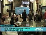 Argentine Parliament moves toward railway nationalization