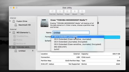 How to Make External Hard Drive work with Mac and PC - set up guide-how to  use hd-how to use hd