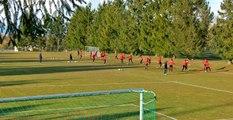 L'avant-match d'ASNL-GFCA