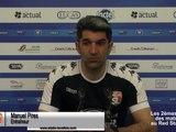 (J25) Laval - Cholet, le point presse avec Manuel Pires