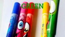 Learn Alphabet abcdefghijklmnopqrstuvwxyz Learn Colours w/ Alphabet Blocks & Magnetic Letters Colors