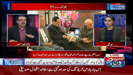 Live With Dr Shahid Masood – 8th March 2018