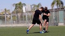 CAÑO DOBLE SLIDE - Jugadas, Trucos de Fútbol Sala & vídeos de regates para partidos