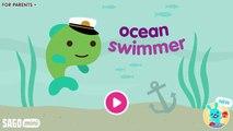 Fun Sago Mini Games - Funny Baby Sea Monster Adventure Fun Play Time With Sago Mini Ocean Swimmer