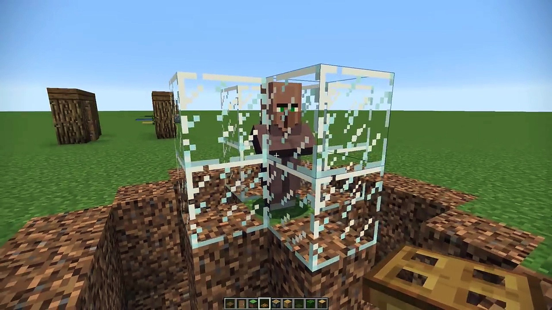 Minecraft How To 100 Mob Proof Your House Video Dailymotion