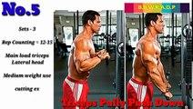 Arms size gain workout/biceps size gain workout/best arms workout/full arms workout plan