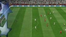 Sevilla - Lyon free kick goal - PES 2017 Gameplay