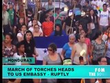 Honduran Torch March Heads to U.S. Embassy: Ruptly