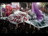 "Spanish ""Podemos"" party at Syriza wind up rally"