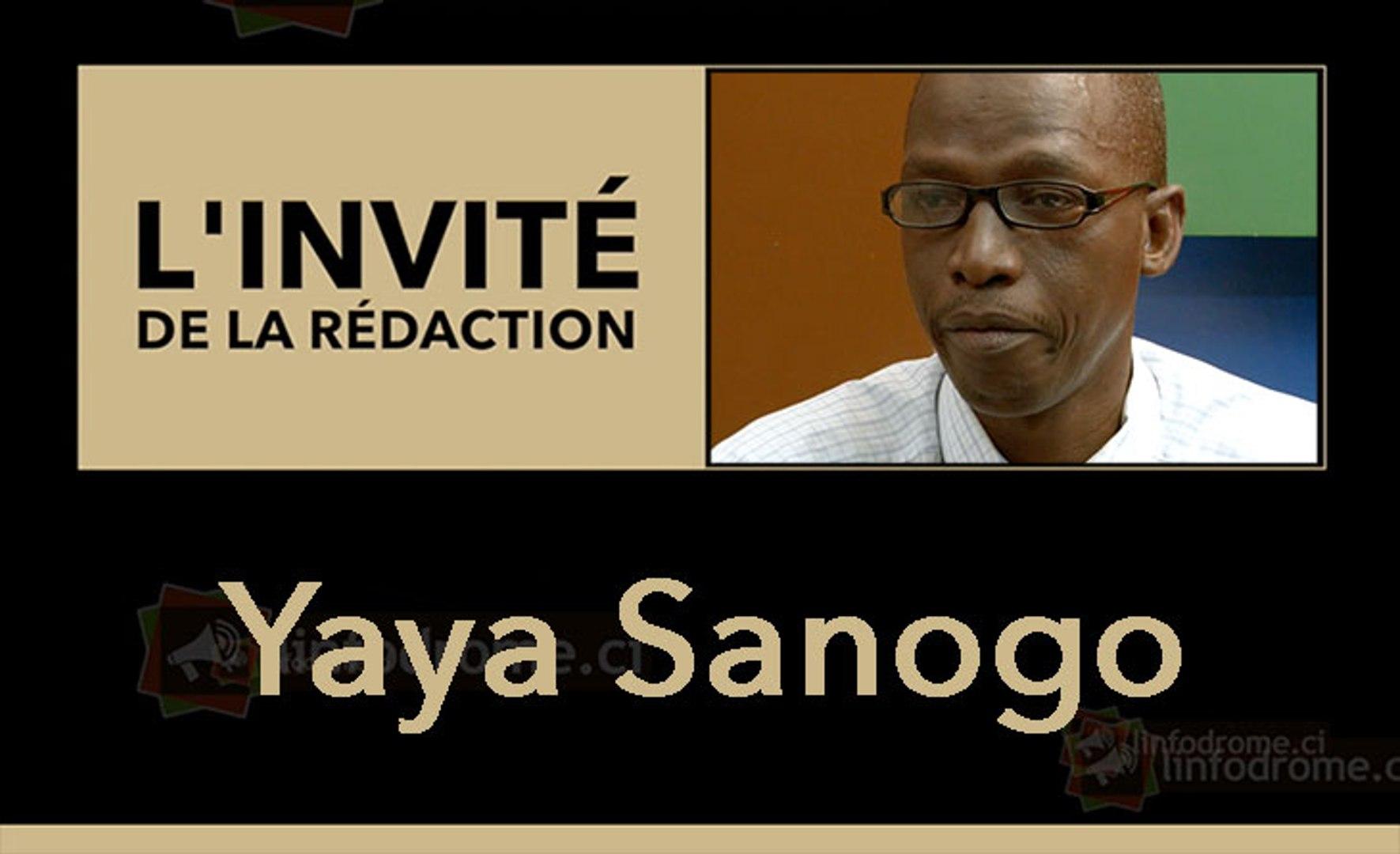 L'invité de la rédaction : Yaya Sanogo, Président de l'UNALOCI