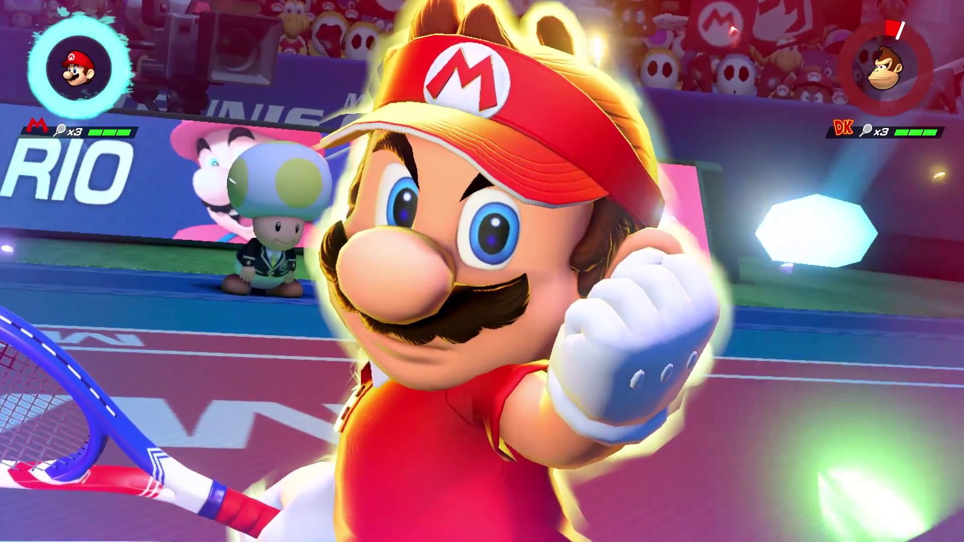 Mario Tennis Aces - Trailer Nintendo Direct du 08/03