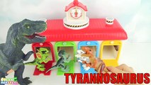 Learn Names of Dinosaurs with Tayo. Learning Lego dinosaur Toys Jurassic World T Rex Eggs Lego Dino