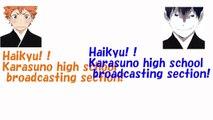 【HAIKYU Radio】Ayu and Kaito's New Year's resolutions!【Transcribe】