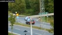 GHOST RIDER VS SWEDISH POLICE - SOLLENTUNA