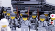 Lego World War 2 German Army! Tanks, Infantry, and More!