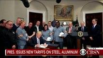 President Trump issues new tariffs