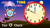 What Time Is It Now? - Whats the Time?, Time Song for Children | Kids English Nursery Songs