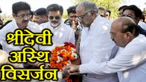 Sridevi's ashes Immersing UNCUT video: Boney Kapoor at Haridwar; Watch here | FilmiBeat