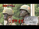 [Real men] 진짜 사나이 - 'Great reverse'psychic marine Corps's camouflage 20151129