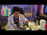 [My Little Television] 마이리틀텔레비전 - Jung Joon-young teamed cookie and kimchi 정준영, 과자로 김치전을? 20150530