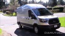 Part 1 - new Ford Transit Work Van Review, Walk Around, Engine Start and Test Drive!
