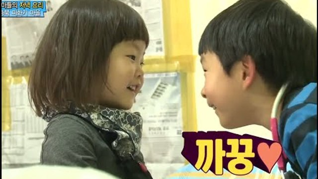 [ENG SUB]Dad! where are you going?아빠어디가-Minyul♥Dayoon cute play mate 민율다윤소꿉놀이 20141207