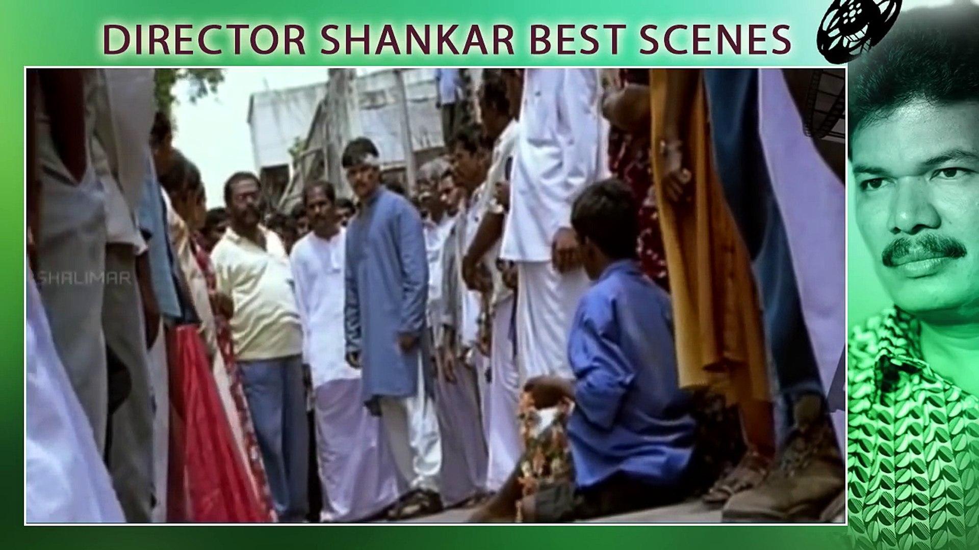 Director S. Shankar Best Scenes  Telugu Movies