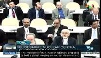 UN members discuss global nuclear disarmament