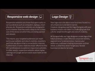 SynapseIndia Technologies- our web design & markup expertise
