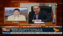 Ollanta Humala denies conspiracy against ex-president Alan Garcia