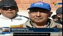 Bolivia's Evo Morales pays tribute to Hugo Chavez