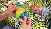 ☛☛☛ Kinder Joy Surprise Monsters University disney pixar and Kido eggs sur