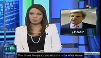 """Kerry urges Assad to commit to peace ahead """"peace talks"""""""