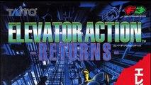 Elevator Action Returns for the Sega Saturn