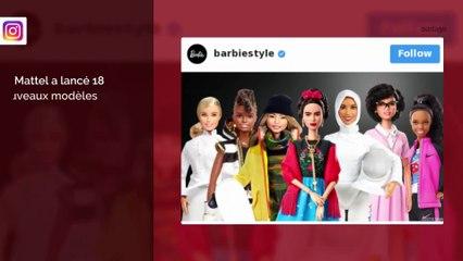 Mattel met à l'honneur les femmes inspirantes