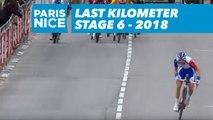 Last Kilometer / Dernier kilomètre - Étape 6 / Stage 6 - Paris-Nice 2018