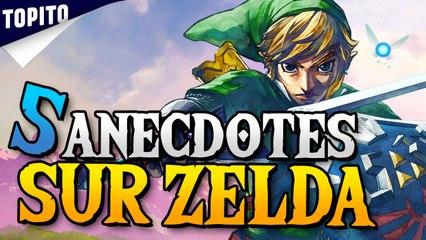 Top 5 des anecdotes sur la saga Zelda