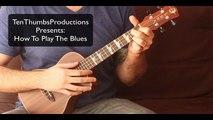 How To Play 12 bar blues in G on Ukulele - Easy Ukulele - Ukulele Lesson - Ukulele Tutorial