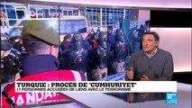 """Reprise du procès de """"Cumhuriyet"""" en Turquie: """"C''est un procès totalement politique"""""""