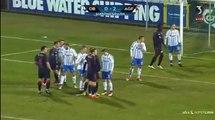 Stage GOAL (0-1) Odense vs AGF Aarhus HD