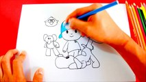 Cómo dibujar a POCOYO y sus Amigos (Elly, Pato, Pajaroto, Loula) | How to draw Pocoyo and Friends
