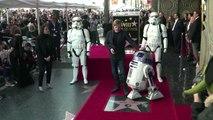 Star Wars actor Mark Hamill gets star on Hollywood Boulevard