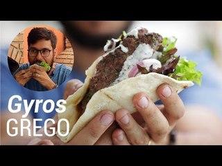 Receita de Sanduíche Grego Gyros - Web à Milanesa